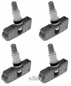 Set of 4 For Chevrolet Express 2500 Tire Pressure Monitor Sensor Dorman 974-301