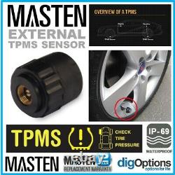 Spare Part Kit of 4 TPMS Tyre Pressure Monitor Systems Sensor suits TP-10 TP-09