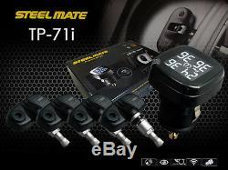 Steelmate Internal Digital TPMS Tire Tyre Pressure Monitoring System Gauge Meter