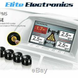 Steelmate Tp-05e Diy Wireless Tpms Tyre Pressure Monitor System For LCD Displays