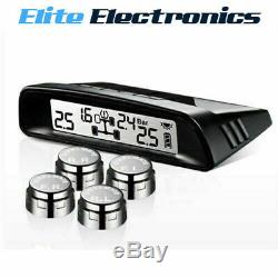 Steelmate Tp-s1 Wireless Tpms Solar Power Display Tyre Pressure Monitor System