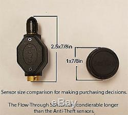 TIRE PRESSURE & TEMPERATURE MONITORING SYSTEM 4 AT-Sensors + Booster (TPMS4B)