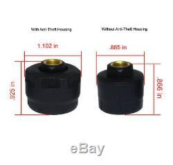 TIRE PRESSURE & TEMPERATURE MONITORING SYSTEM 4 AntiTheft Sensors (TPMS4)