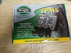TIRE PRESSURE & TEMPERATURE MONITORING SYSTEM 8 FlowThrough Sensors (TPMS8FT)