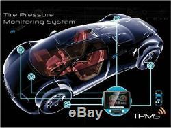 +TPMS 8 Internal Tire Sensors Tyre Pressure Monitoring System Car Caravan 12v24v