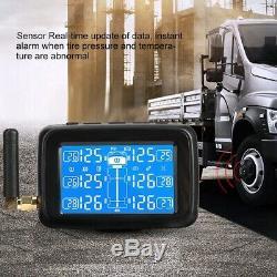 TPMS Car LCD Tire Tyre Pressure Monitoring System + 6 External Sensor + Antenna