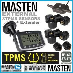-TPMS Car Truck Tyre Tire Pressure Monitoring System Sensor Real Time Truck