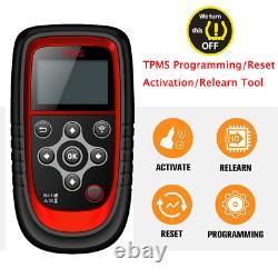 TPMS Programming Tool Car Tire Pressure Monitor Sensor Diagnostic Relearn Tool