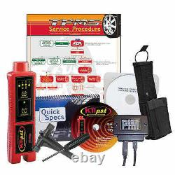 TPMS Sensor Tire Pressure Monitoring System Master Tool Kit with Guide & MORE