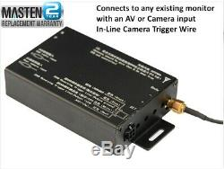 =TPMS Tire Pressure Monitor System Tem Pressure In Dash A/V Monitor Bar PSI Cam