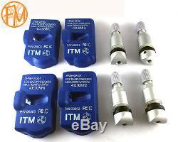 TPMS Tire Pressure Sensors Porsche 997 911 2005-2019 Monitor 433mhz
