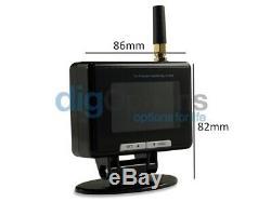 /TPMS Tyre Pressure Monitoring System 8 Internal Tire Sensors Car Caravan 12v24v