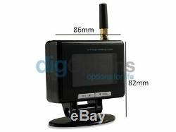 -TPMS Tyre Pressure Monitoring System Car Caravan 6 Internal Tire Sensors 12v24v