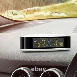 TPMS Tyre Temperature Pressure Monitor System 6 Sensors + Repeater fit Truck Van