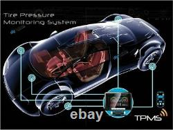 TYRE PRESSURE MONITORING SYSTEM CAR 4WD CARAVAN 4 Internal SENSORS 12V 24V