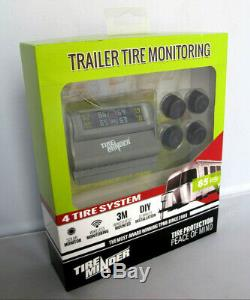 TireMinder TPMS-TRL-4 Trailer Tire Pressure Monitoring System 4 Tire Kit