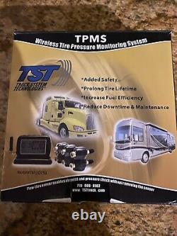 Tire pressure monitoring system 4 Sensors