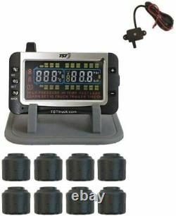 Truck Systems Technology TST 507 Tire Pressure Monitor with 8 Cap Sensors OPEN BOX