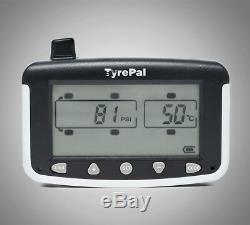 TyrePal TC215B Tyre Pressure Monitoring System TPMS 6 Sensors for Caravans