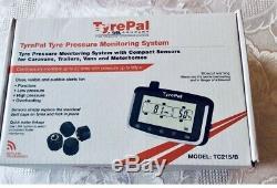 TyrePal TC215/OEK Tyre Pressure Monitoring System for Caravans. With 6 Sensors