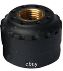 Tyre Pressure Monitoring System TPMS External Cap Sensors x 4 LCD Caravan 4wd