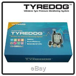 Tyredog TD1000 TPMS Wireless Tire Pressure Monitoring USA FREE Shipping