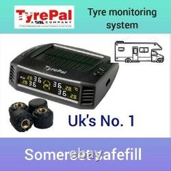 Tyrepal Tyre Pressure Monitoring system. Solar with 4 no. Sensors for motorhome