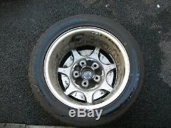 Vintage 1989 Porsche 928s4 Wheels+tyres. Very Rare Tyre Pressure Monitoring