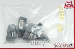06-11 Mercedes C300 Sl600 Tpms Tire Pressure Monitor Capteur Ensemble De 4 Pc 433mhz