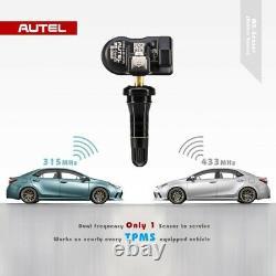4 Capteurs De Surveillance De La Pression Des Pneus Tpms Autel MX Sensor 2in1 433mhz+315mhz