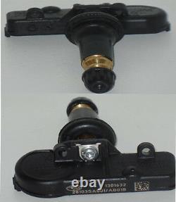 4 Kits Tpms Capteur Système De Surveillance De La Pression Des Pneus S'adapte Oem#28103-sa001 Subaru
