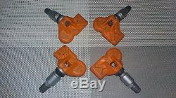 4 Nouveau Oem Tpms Rdks Rdk Reifendrucksenor Bmw E82 E87 E90 E91 E92 E93 F07 F10 F11