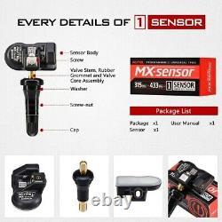 4pcs Autel Mx-sensors 2in1 315mhz 433mhz Tpms Système De Moniteur De Pression Des Pneus