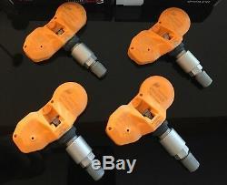 4x Huf Tpms Pneus Pression D'air Moniteur Capteurs Set Pour Porsche Boxster Rde011