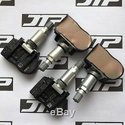 4x Véritable Bmw Tpms 707355-10 Pneus Capteur De Pression Du Jeu De Surveillance Valve 6855539