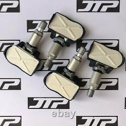4x Véritable Bmw Tpms Oem Tyre Pressure Monitoring Sensor Set Of 4 36106881890