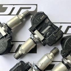 4x Véritable Bmw Tpms Oem Tyre Pressure Monitoring Sensor Set Of Four 3610 6881890
