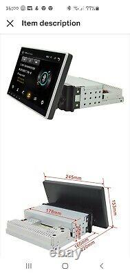 Android Touch Screen Headunit Single Din With Tyre Pressure Monitoring System