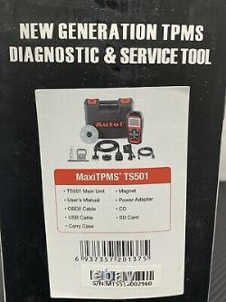 Autel Maxitpms Ts501 Système De Surveillance De La Pression Des Pneus Tpms Réinitialisation Outil De Programmation