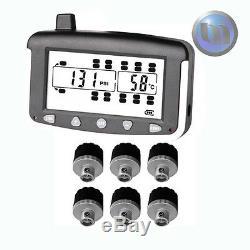 Axe Externe (cap Type) Véhicule Lourd Pneus Surveillance De La Pression Du Système 6 Senso