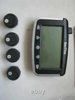 Eeztire-tpms T515 Système De Surveillance De La Pression Des Pneus Tpms4 4 Capteurs Antivol
