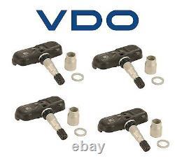 Ensemble De 4 Capteurs Tpms Système De Surveillance De La Pression Des Pneus Pour Kia Hyundai Honda Vdo
