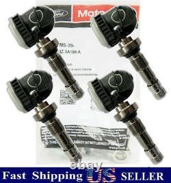 Ensemble De 4 Véritables Oem Ford Motorcraft Tire Pressure Monitor Tpms39 Fr3z-1a189-a