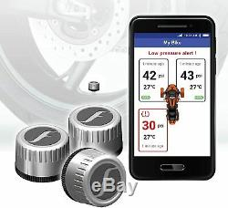 Fobo Bike Trike La Pression Des Pneus Systèmes De Surveillance Ios / Android Bluetooth Argent
