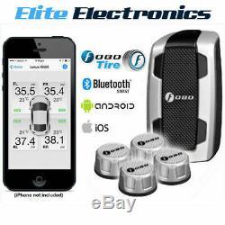 Fobo Tire Plus Silver 87 Pression Psi Bluetooth Pneus Moniteur Tpms Camion Ute Van
