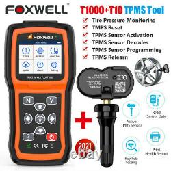 Foxwell T1000 Tpms Outil De Programmation D'activation Tpms Capteur De Pression De Pneus