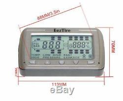 La Pression Des Pneus & Temperature Systeme De Surveillance 4 Capteurs Anti-vol (tpms4)