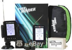 Nib Tire-minder Tm66 M6 Système Sans Fil Surveillance De La Pression Des Pneus 6 Capteurs Nouveau