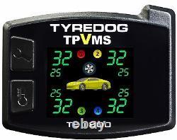 Nouveau Tpvms Td1800a-x Tyredog La Pression Des Pneus Moniteur Système Capteur Interne