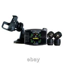 Nouveau Tyredog Td1800-ax Tpms Externe 4-pneu Système De Surveillance De La Pression Des Pneus